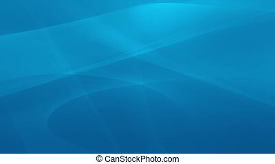 Abstract blue swirls in motion