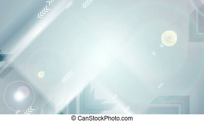 Abstract blue tech futuristic arrows video animation