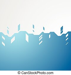 Abstract blue technology background