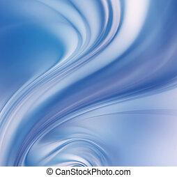 abstract blue tornado