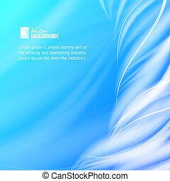 Abstract blue tornado.