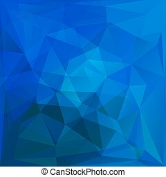 Abstract blue triangles background