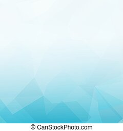 Abstract blue triangles background. Good for financial annual cover design, brochures, booklets etc.