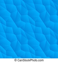 Abstract blue triangulated pattern