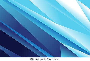 Abstract blue vector background .