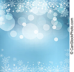 abstract blue vector New Year's Eve, Christmas background