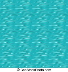 Abstract blue waves seamless background.
