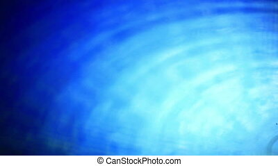 Abstract blue waves.