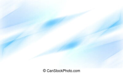 Abstract blue wavy gradient video animation - Abstract blue...