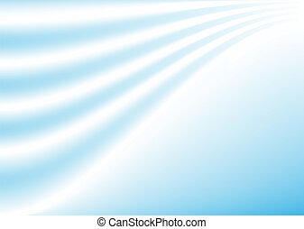 abstract blue wavy lines