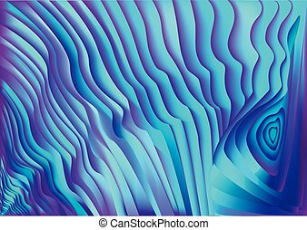 abstract blue wavy stripes background