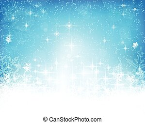 Abstract blue white Christmas, winter background