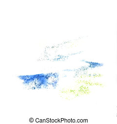 Abstract blue,yellow watercolor  background for your design insu