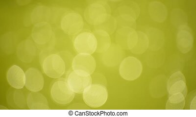 Abstract blur background of green glitter