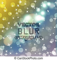Abstract blur bokeh bright color background