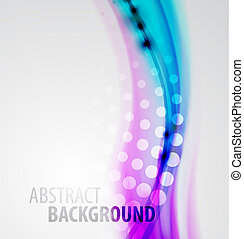 Abstract blur waves background