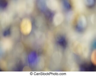 Abstract blured light bokeh lights rotation background