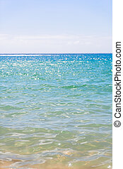 abstract blured sea background