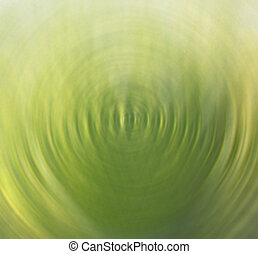 Blurred Background Green Leaves