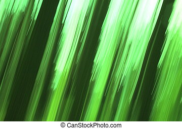 Abstract blurred background with green color