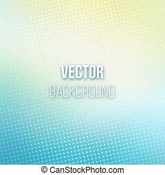 Abstract Blurred Background With Halftone Effect