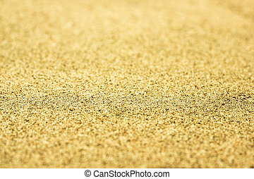 Abstract blurred background with yellow sand
