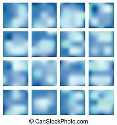 Abstract blurred backgrounds.