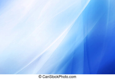 blurred blue background