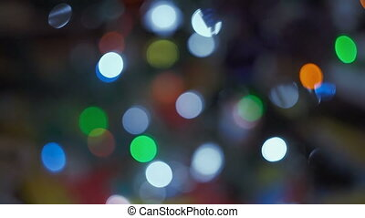 Abstract blurred Christmas background