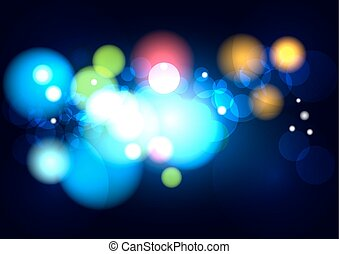 abstract blurred color with bokeh background