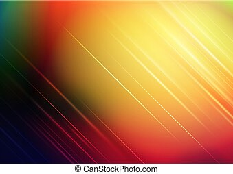 Abstract blurred colors background with lights