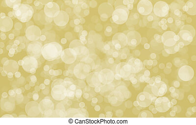 abstract blurred gold color background with light bokeh