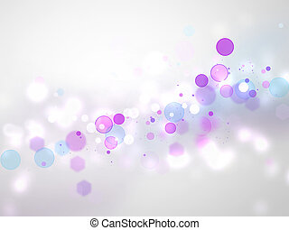 abstract blurred lights - festive background