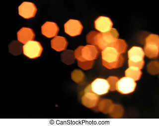 Abstract blurred lights