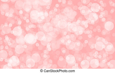 abstract blurred pink color background with light bokeh