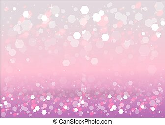 Abstract blurred soft focus bokeh of bright pink and light red and violet background