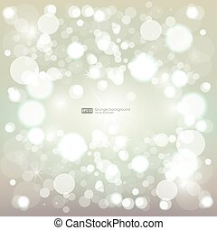 abstract blurred vector background with sparkle stars bokeh and snowflake for decorations for merry