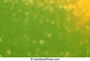 Abstract Blurred Vibrant Green Background with Bokeh