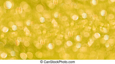abstract blurred yellow background with sun glare