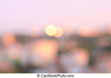 Abstract blurry bokeh background. Defocused and colorful...