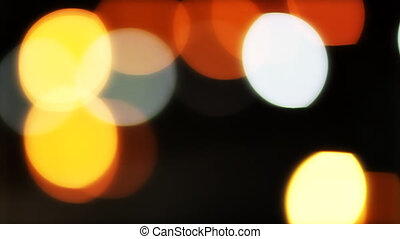 Abstract blurs.