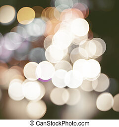 abstract, bokeh, achtergrond, circulaire