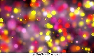 Abstract bokeh background. Digital backdrop