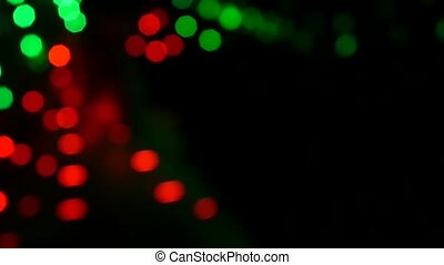 Abstract bokeh background. Slow motion