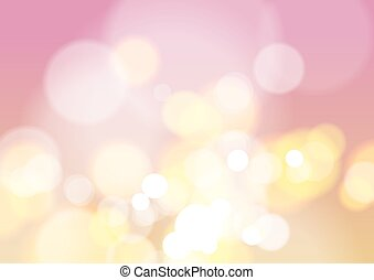 Abstract Bokeh Light Background