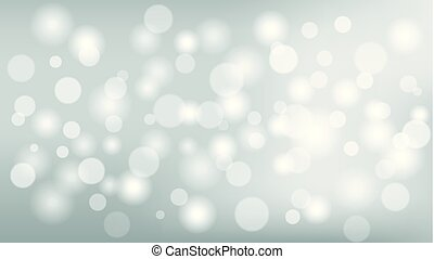 Abstract bokeh light background, vector illustration