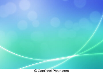 Abstract Bokeh Light Waves Backdrop