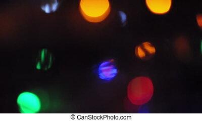Abstract Bokeh Lights - Abstract bokeh lights with stripe ...