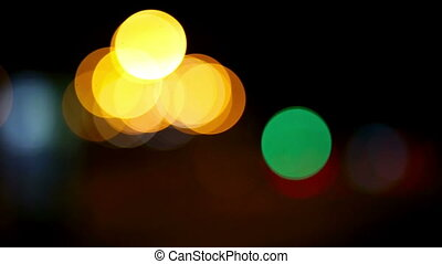 Abstract bokeh.