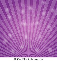 Abstract bokeh on purple background
